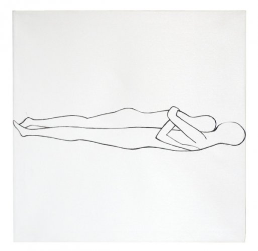 love affair 2 - 60x 60cm acrilico su tela - 2007